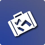 Gepäck vektor abbildung
