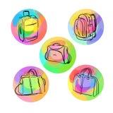 Gepäcktaschen Lizenzfreie Stockfotos