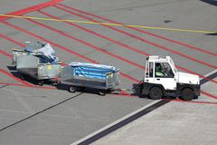 Gepäckwarenkörbe Lizenzfreies Stockfoto