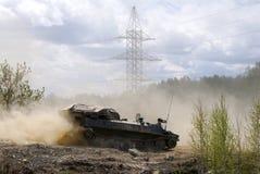 Gepantserd militair voertuig royalty-vrije stock foto's