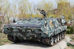 Gepantserde militaire auto Stock Foto's