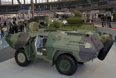 Gepantserde militaire voertuigen Royalty-vrije Stock Afbeelding