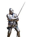 Gepantserde ridder Stock Afbeeldingen