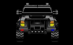 Gepantserde SUV-Vector stock afbeelding