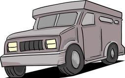 Gepantserde Vrachtwagen Stock Afbeeldingen