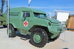 Gepantserde ziekenwagen stock fotografie