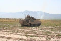 Gepanzerte Fahrzeuge in Afghanistan stockbild