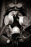Gepanzerter postnuclear Kämpfer Lizenzfreies Stockbild