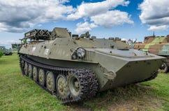 Gepanzerter Raketenluncher BTR-50MTK/UR-67 stockbild
