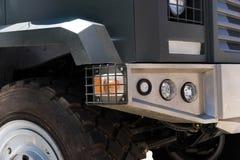Gepanzertes Militärauto Lizenzfreie Stockbilder