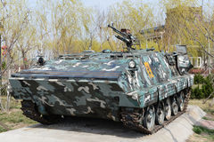 Gepanzertes Militärauto Stockfotos