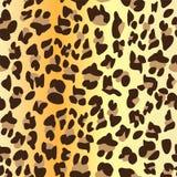 Gepard-Haut-nahtloses Oberflächenmuster, Leopard-Haut-Wiederholungs-Muster für Textilentwurf, Gewebe-Drucken, Mode, lizenzfreie abbildung