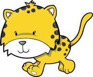 gepard ilustracji wektora ilustracji