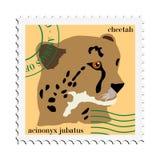 geparda znaczka wektor Zdjęcia Stock