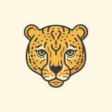 Gepardlinje royaltyfri illustrationer