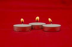 Geparfumeerde kaarsen Stock Foto's