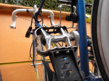 Geparkeerd bicicle Stock Fotografie