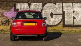 Geparkeerde auto Royalty-vrije Stock Foto