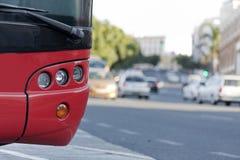 Geparkeerde bus Royalty-vrije Stock Afbeeldingen