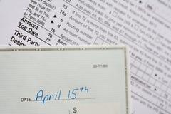 Gepaste belastingen Stock Fotografie