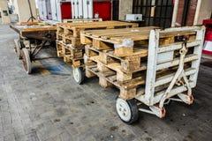 Gepäckwarenkorb Lizenzfreie Stockbilder