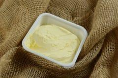 Gepeitschte Butter stockbild
