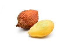 Gepeld fruit Salacca Royalty-vrije Stock Foto's