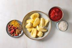 Gepeld rijp jackfruit stock fotografie