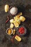 Gepeld rijp jackfruit stock foto
