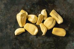 Gepeld rijp jackfruit royalty-vrije stock foto