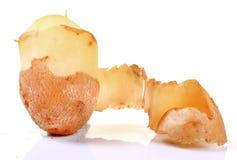 Gepelde aardappel royalty-vrije stock foto