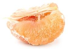 Gepelde grapefruit royalty-vrije stock foto
