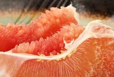 Gepelde grapefruit royalty-vrije stock fotografie