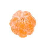 Gepelde mandarijn stock foto's