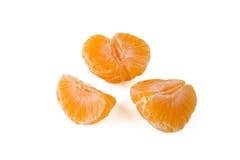 Gepelde mandarijn Royalty-vrije Stock Afbeeldingen