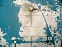 Gepelde muur Stock Afbeeldingen