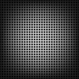 Geperforeerd metaal naadloos patroon royalty-vrije illustratie