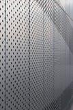 Geperforeerd metaalpaneel E verticaal stock foto