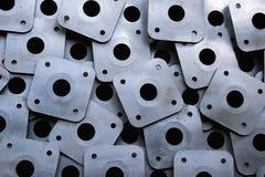 Geperforeerde platen Stock Fotografie