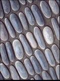 Gepflasterter Steinhintergrund Stockfoto