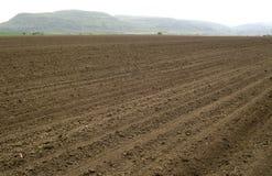 gepflogen und bereiten Sie für das Säen von landwirtschaftlichen Feldern vor stockfotografie