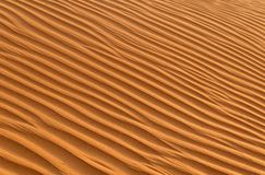 Geplätscherter Sand Stockfotografie