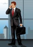 Geplaatst beroep: Manager royalty-vrije illustratie