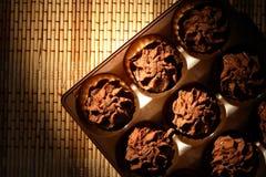 Geplaatst chocoladesuikergoed Royalty-vrije Stock Afbeelding