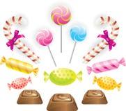 Geplaatst suikergoed Stock Afbeelding