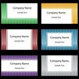 Geplaatste adreskaartjes Royalty-vrije Stock Foto
