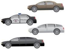 Geplaatste auto's. Royalty-vrije Stock Fotografie
