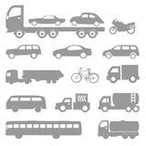 Geplaatste autovectoren Stock Fotografie