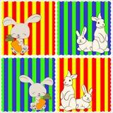 0116_15 geplaatste babykaarten Royalty-vrije Stock Foto