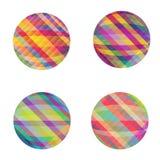 Geplaatste cirkels Stock Foto